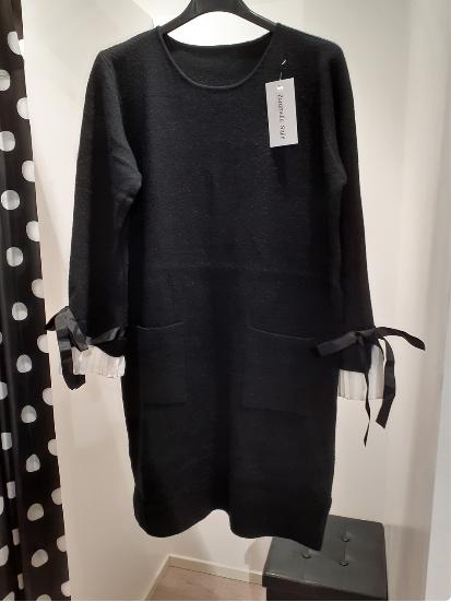 sweater-dress-with-fake-shirt