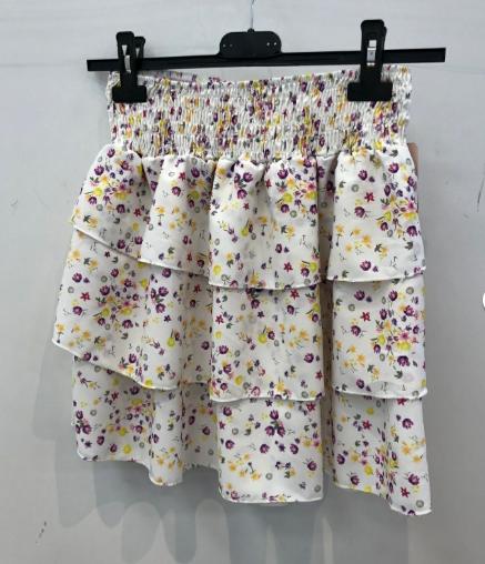skirt-with-flounces