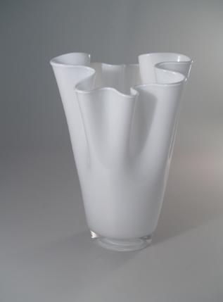 handkerchief-vase-h-30-cm-white