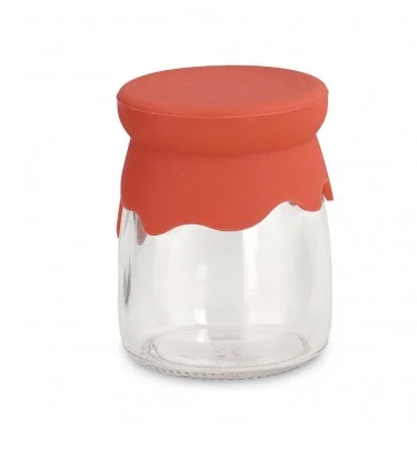 red-silicone-lid-jar